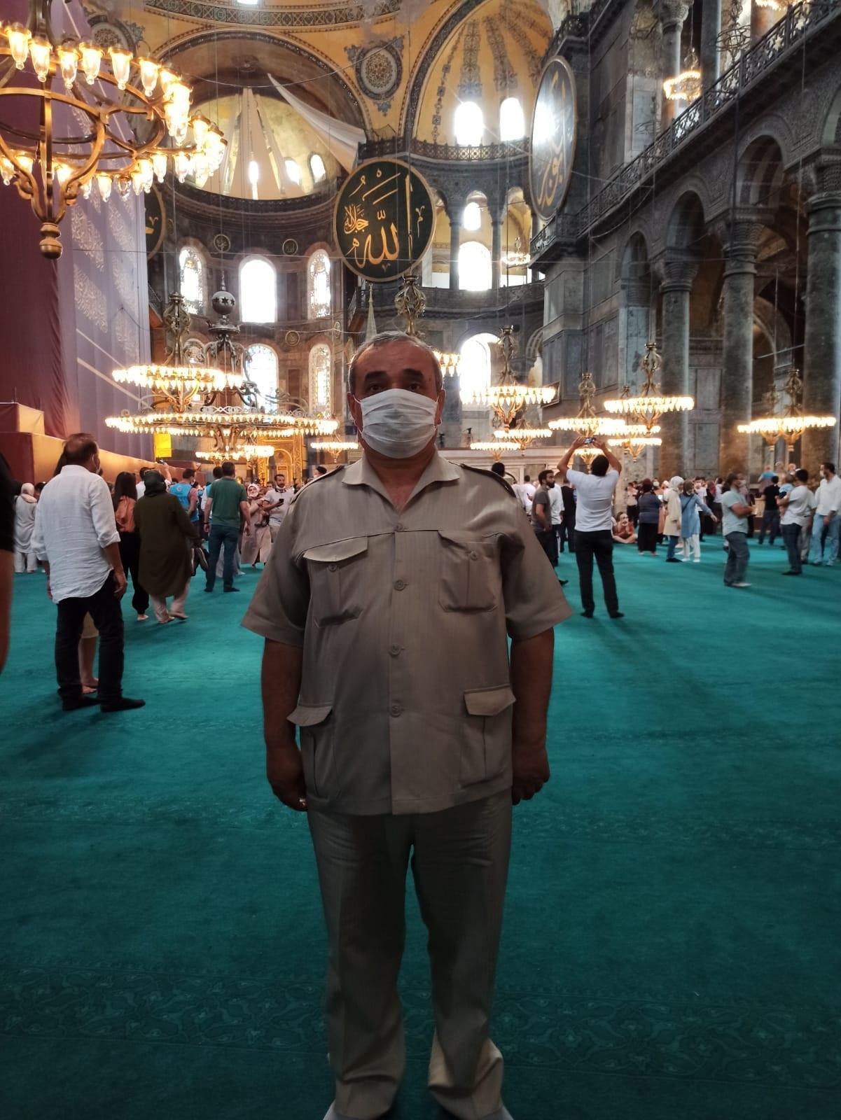 Başkan Şahin, Ayasofya-i Kebir Camii Şerifi ziyaret etti