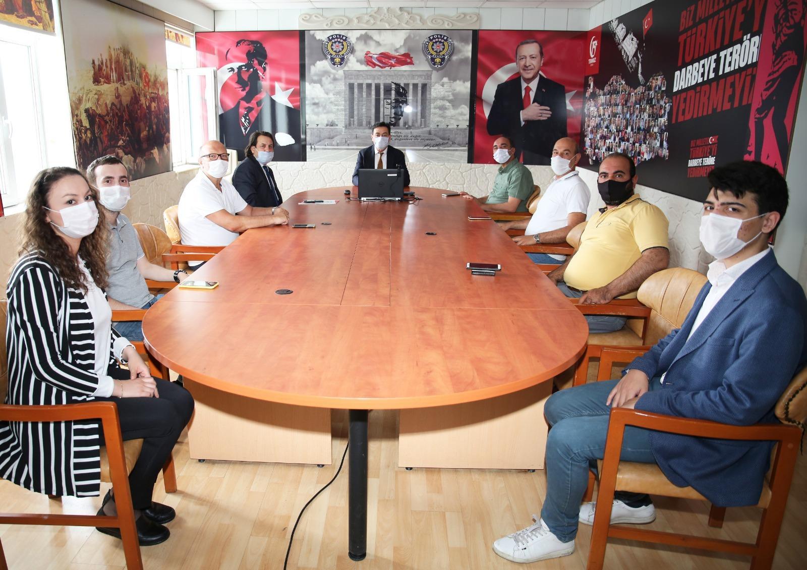 İnternet Medya Birliği'nden Ali Temiz'e ziyaret