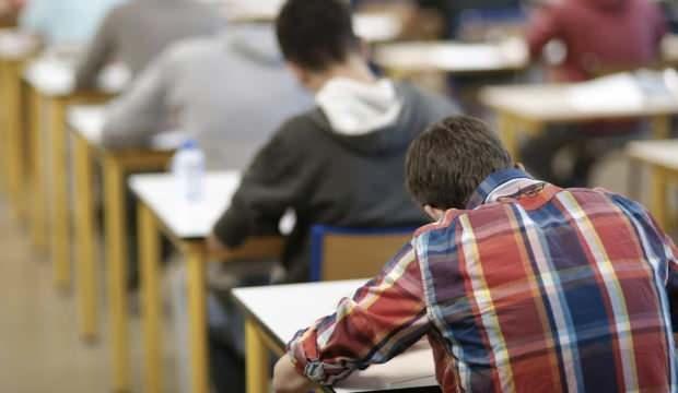 Afyon'da sınav