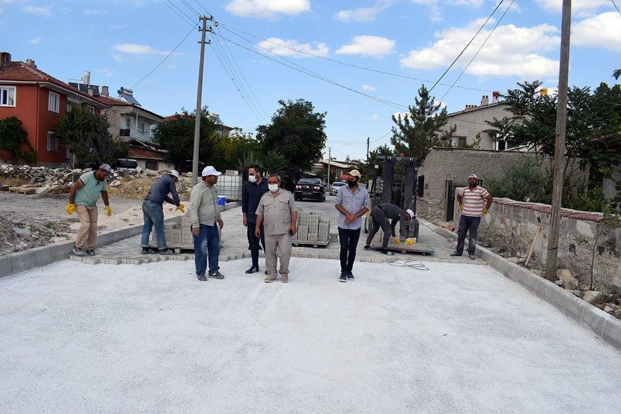 Başkan Ahmet Şahin, İlçe Genelinde Yürütülen Çalışmaları Yerinde İnceledi