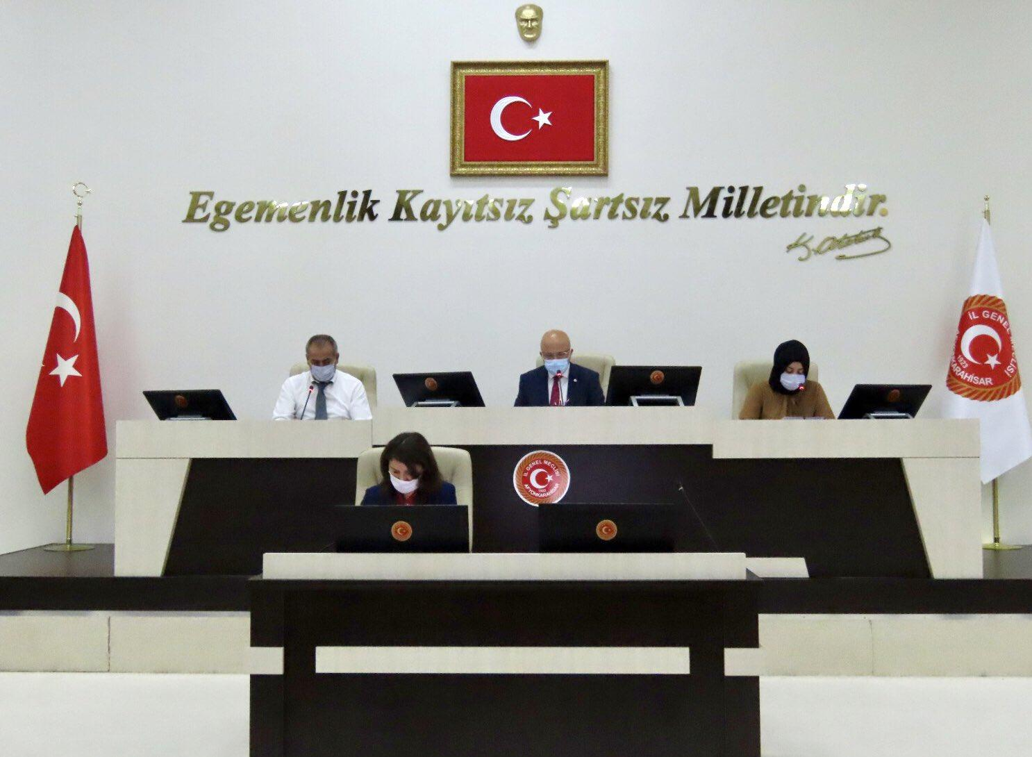Afyon İl Genel Meclisi toplanıyor