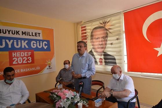 AK Parti teşkilatı Sandıklı'da