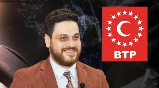 BTP Liderinden Vekil Kaya'ya geçmiş olsun dileği