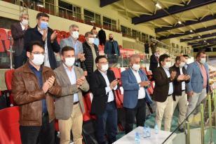 Afjet Afyonspor'u protokol tebrik etti