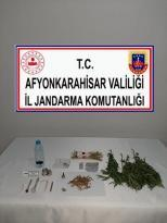 Dazkırı'da Uyuşturucu Ticareti Yapan Bir Şahıs Yakalandı
