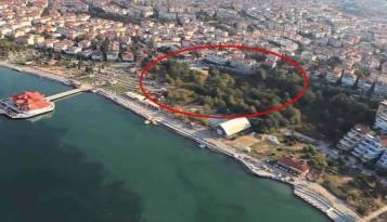 Albatros Parkı yeşil alan ilan edildi