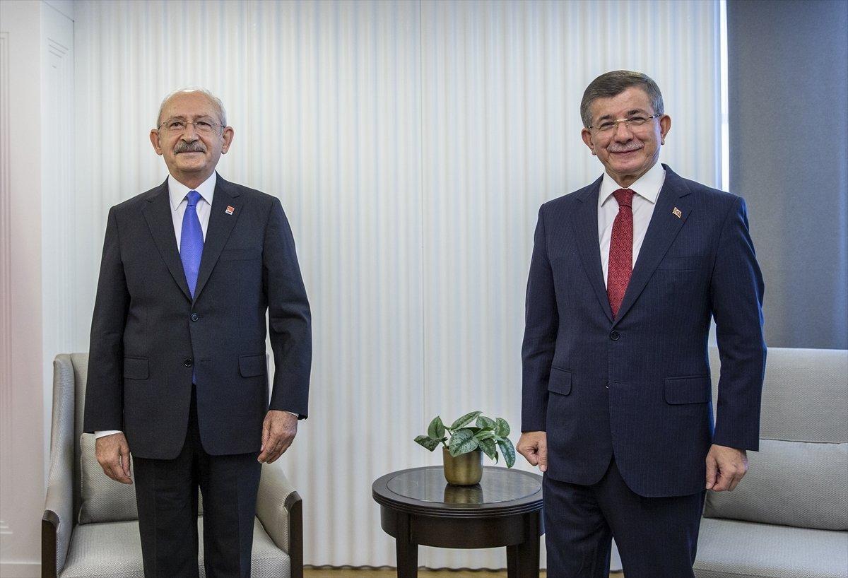 Kemal Kılıçdaroğlu ile Ahmet Davutoğlu arasında FETÖ'cü şakası