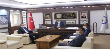 Mhp ilçe Başkanı Divrikli'den Başkan Koyuncu'ya ziyaret